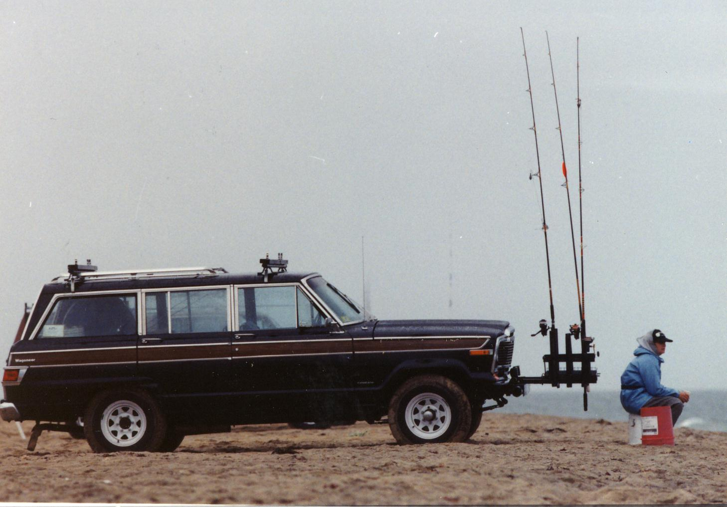 my  old wagoneer fishmobile